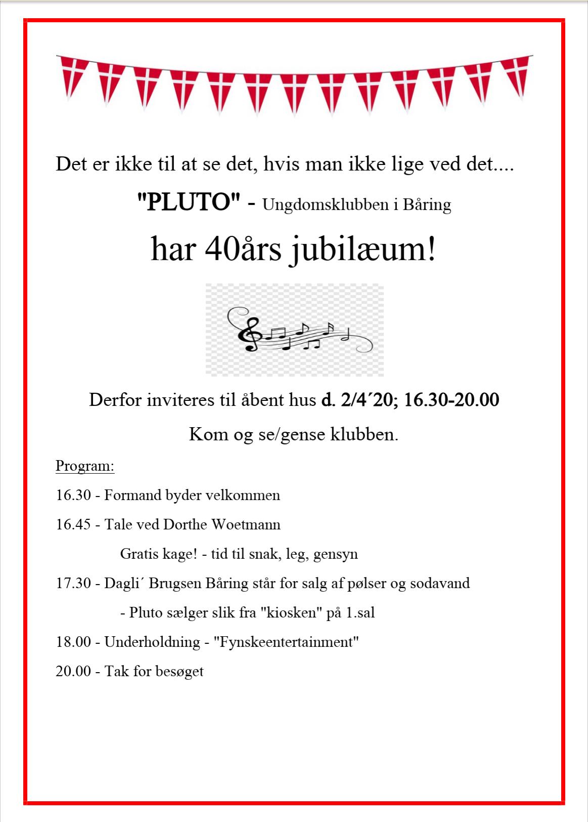 pluto 40 års jubileum